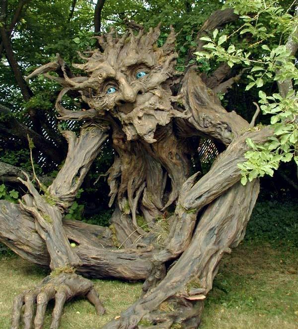 árvores com vida